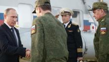 Putin, generales
