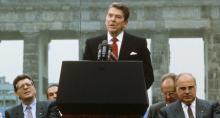 Ronald Reagan, Puerta de Brandenburgo