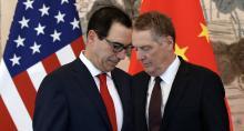 Steve Mnuchin y Robert Lighthizer, Guerra comercial, China, Estados Unidos, Riley Walters