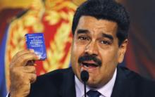 Dictadura venezolana, Nicolás Maduro, Constitución de la República Bolivariana de Venezuela