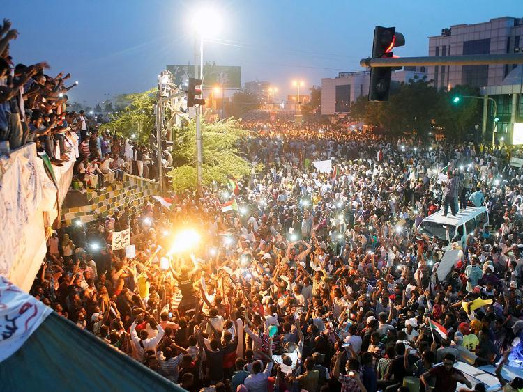 Sudán, Caída de al-Bashir