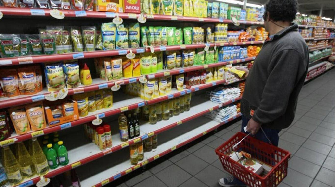 Supermercado, inflación en Argentina