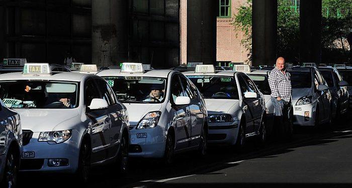 Taxis, huelga en España