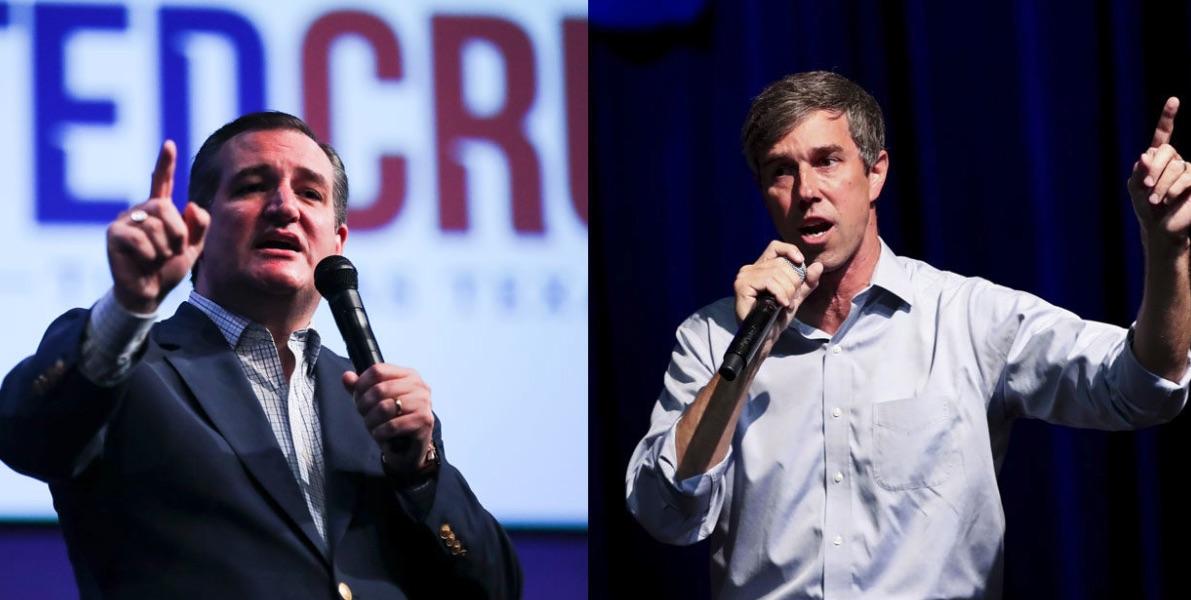 Beto O'Rourke y Ted Cruz