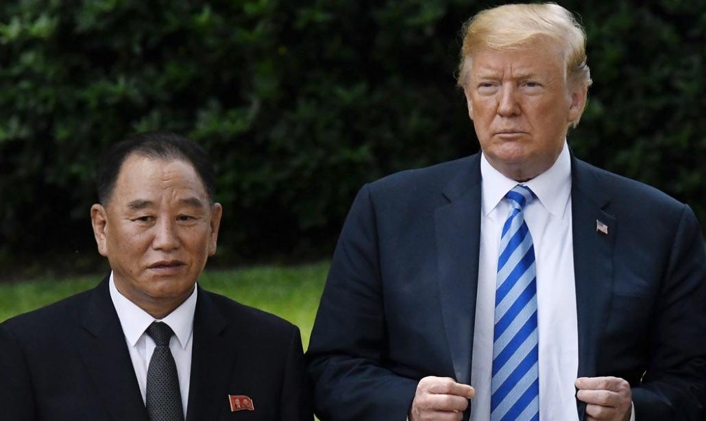 Trump, Kim Yong Chol