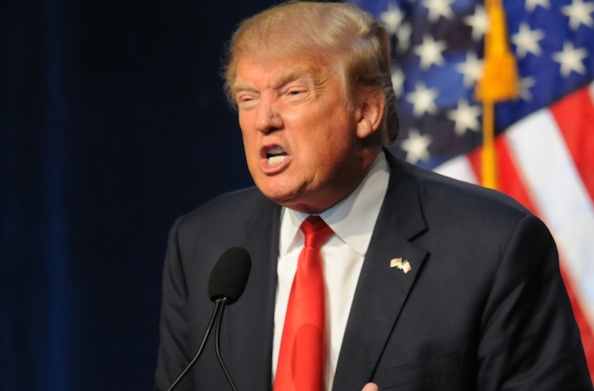 Trump enojado