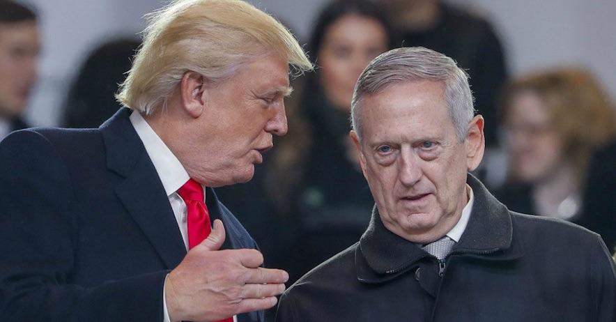 Trump y Mattis
