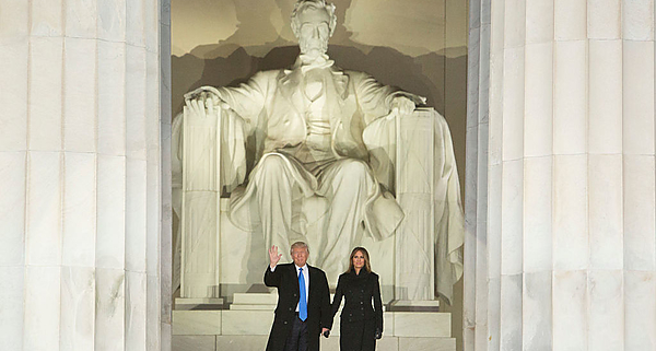 Trump, Melania, Lincoln