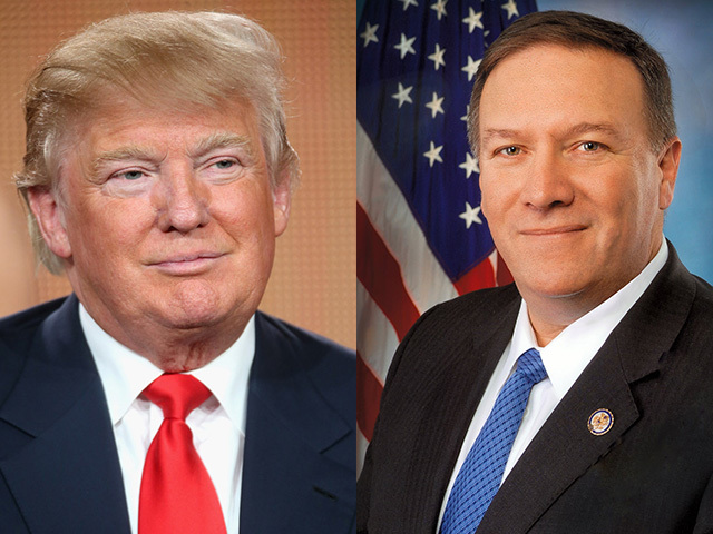 Trump, Mike Pompeo