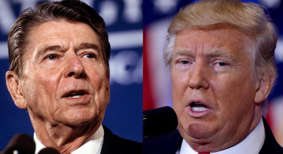 Reagan, Trump