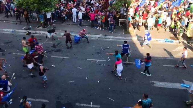 Kirchnerismo, Tucumán, Frente de Todos, Cierre de campaña en Tucumán, Mafia sindical