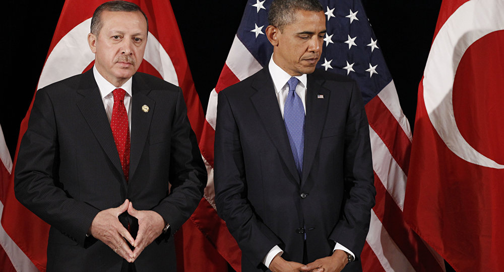 Obama y Erdogan