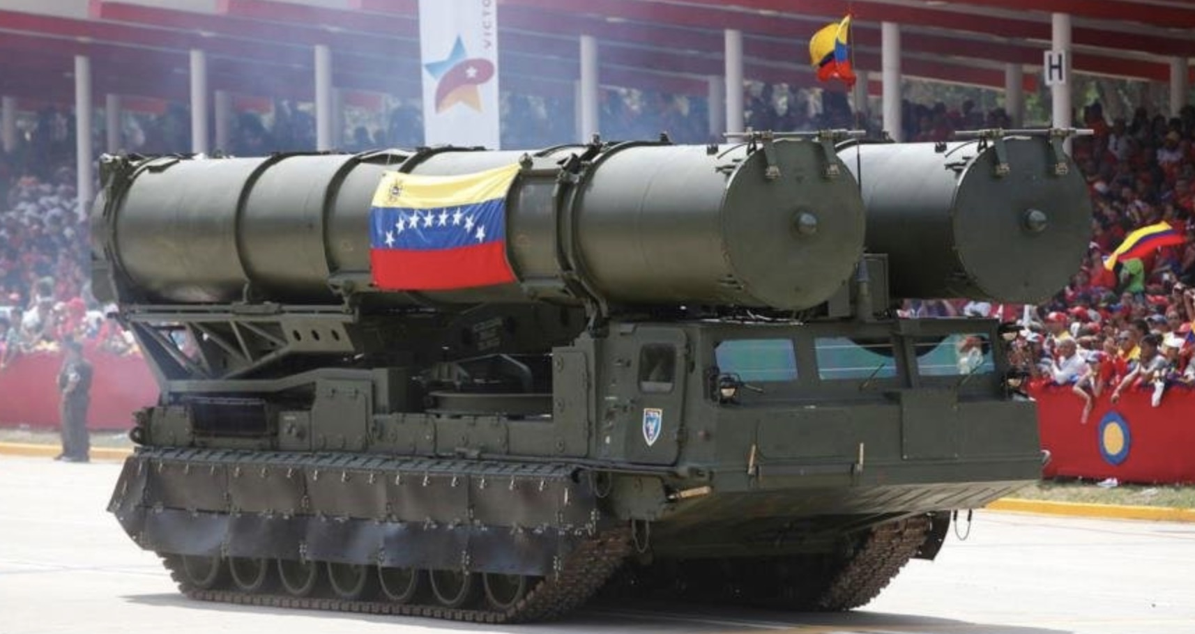 Baterías S-300 venezolanas