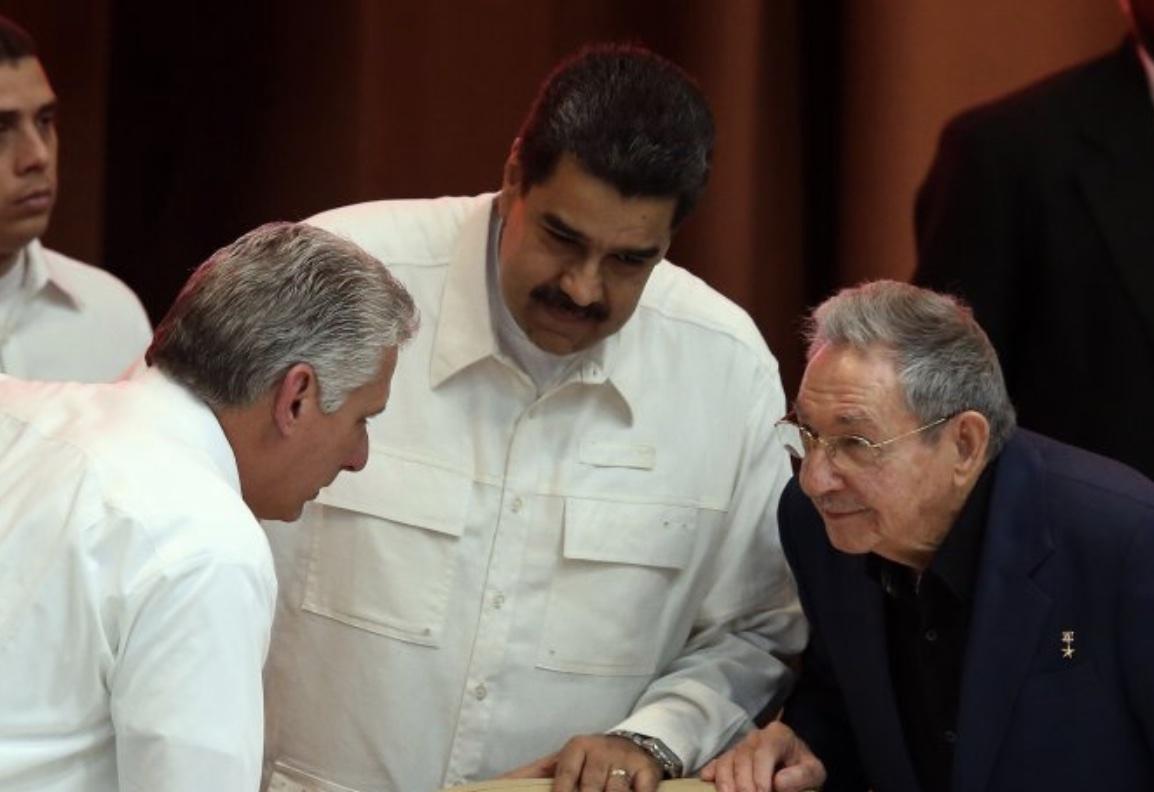 Nicolás Maduro, Raúl Castro, Terrorismo internacional, Díaz-Canel, Cuba, La Habana