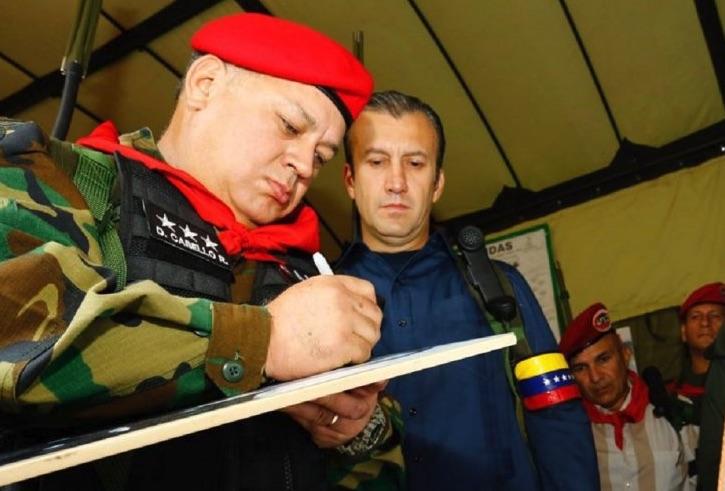 Tareck, Diosdado Cabello