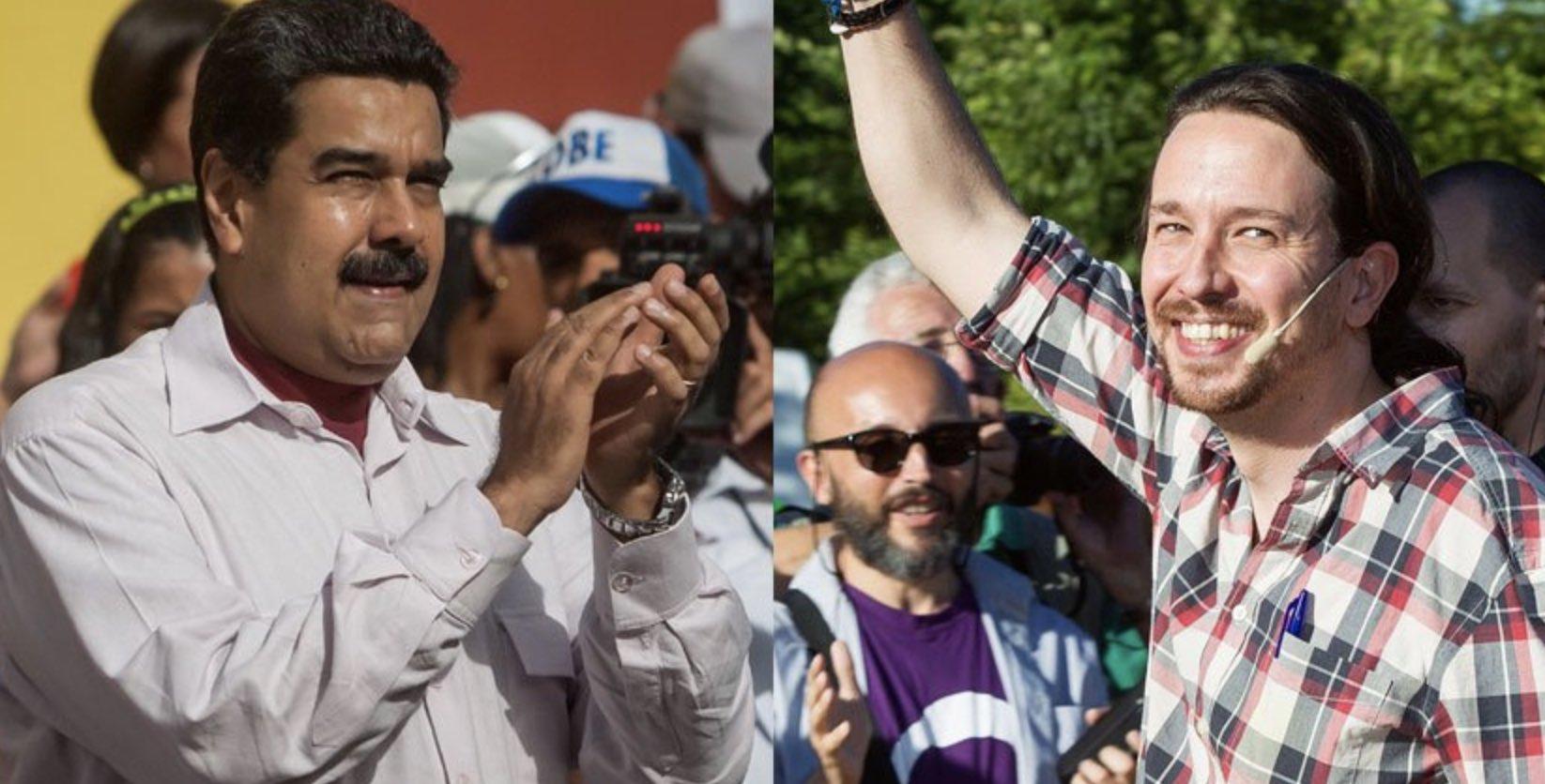 Pablo Iglesias, Nicolás Maduro, Gobierno español, Unidas Podemos