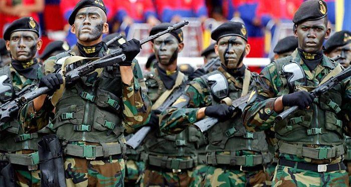 Venezuela, militares