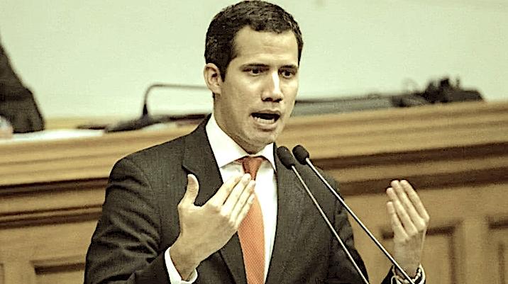 Juan Guaidó, presidente interino de Venezuela