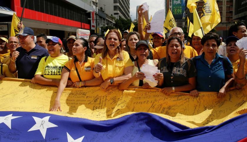 Venezuela, marchas contra Maduro