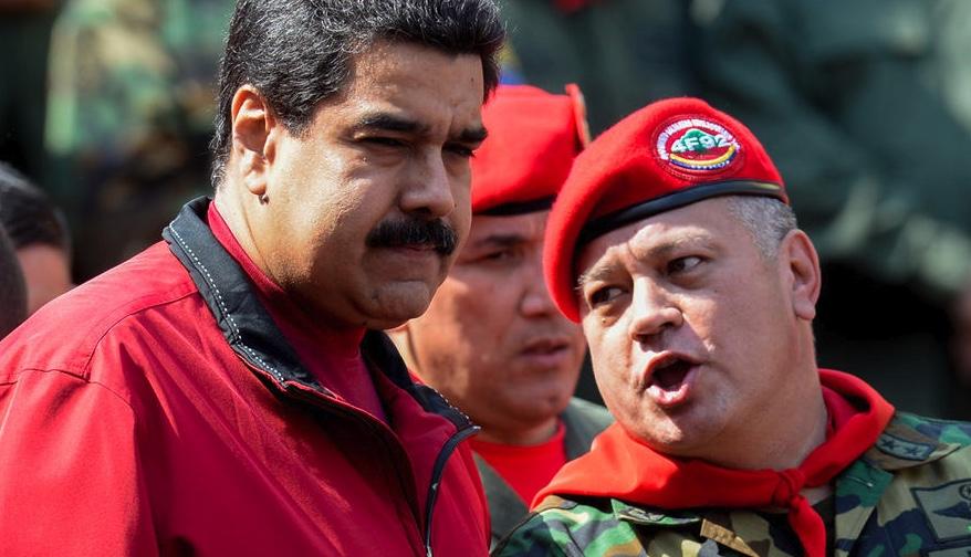 Maduro y Diosdado Cabello
