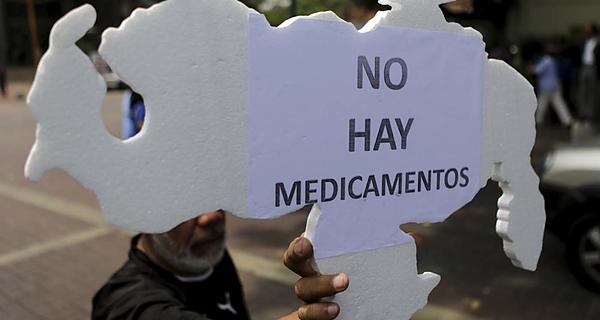 Venezuela, enferma