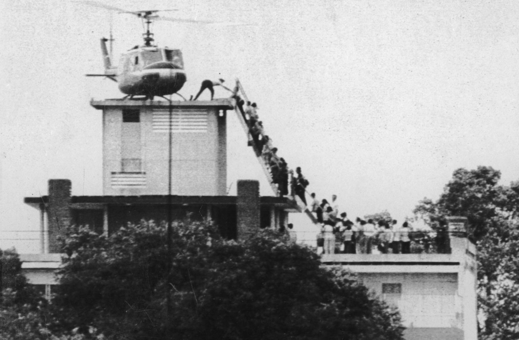 Embajada de los Estados Unidos en Saigón, 1975