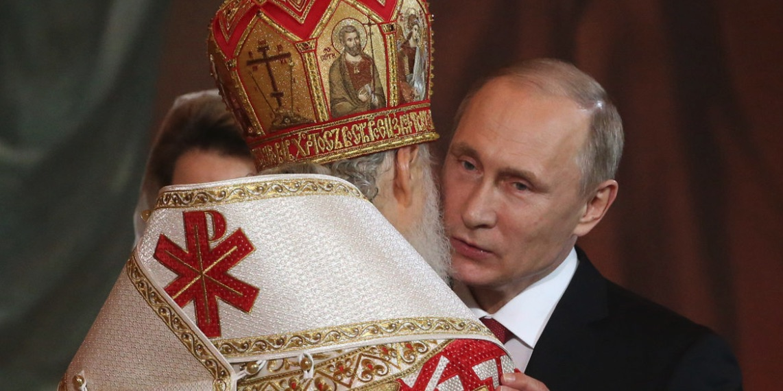 Vladimir Putin, Iglesia Ortodoxa Rusa