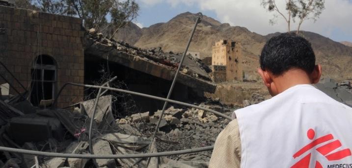 Emiratos Arabes Unidos y Arabia Saudí bombardean Yemén