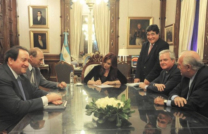 Zaffaroni, CFK, Pinedo, Gil Lavedra