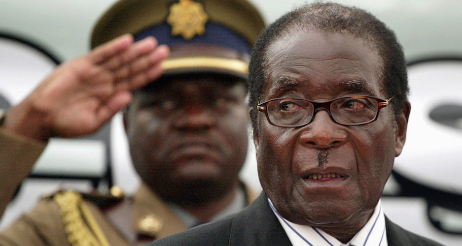 Robert Mugabe, Zimbabue